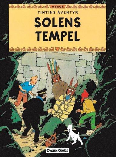 bokomslag Tintin 14: Solens tempel