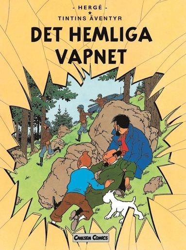 bokomslag Tintin 18: Det Hemliga Vapnet