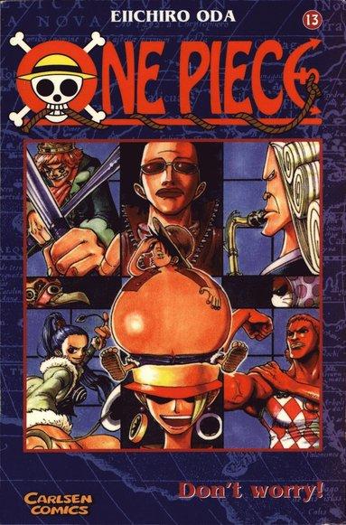 bokomslag One Piece 13 : Simma lungt
