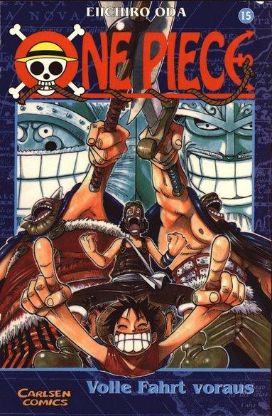 bokomslag One Piece 15 : Full fart framåt