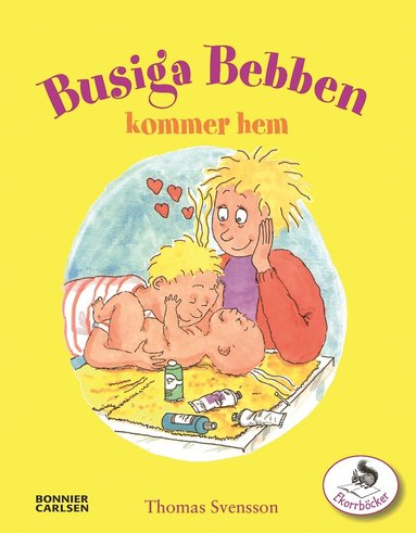 bokomslag Busiga Bebben kommer hem