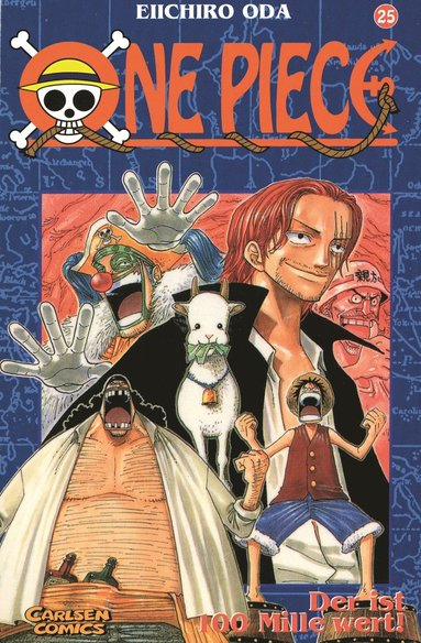 bokomslag One Piece 25 : Hundramiljonersmannen