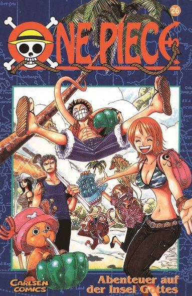 bokomslag One Piece 26 : Äventyret på gudarnas ö