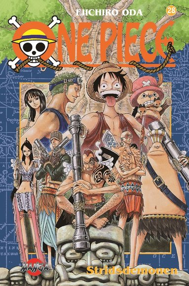 bokomslag One piece 28 : Stridsdemonen