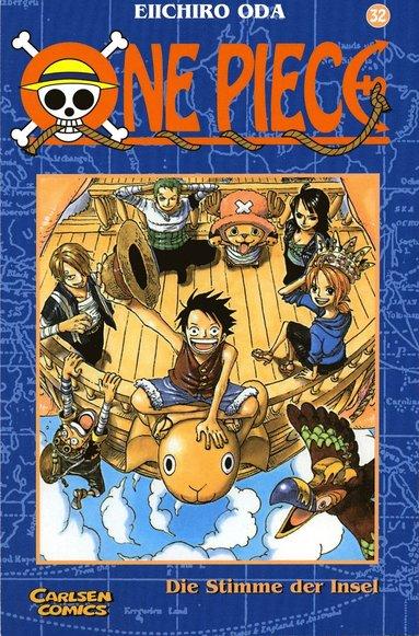 bokomslag One Piece 32 : Fågelsång