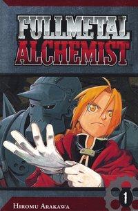 bokomslag FullMetal Alchemist 01