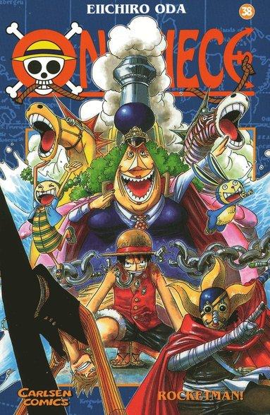 bokomslag One Piece 38 : Raketmannen