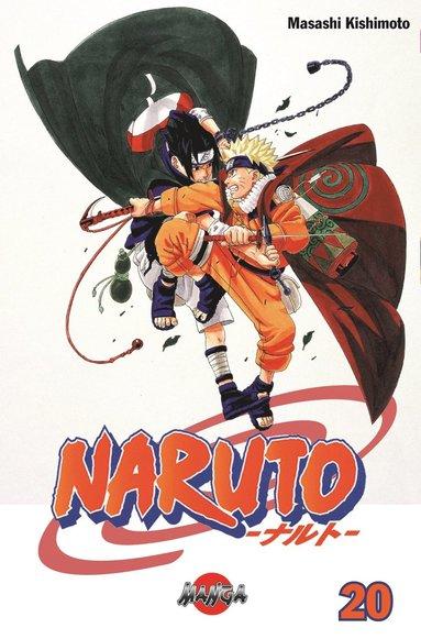 bokomslag Naruto 20