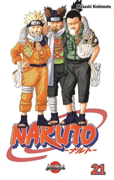 bokomslag Naruto 21