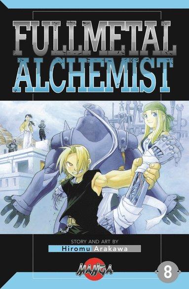 bokomslag FullMetal Alchemist 08