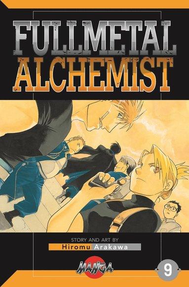 bokomslag FullMetal Alchemist 09