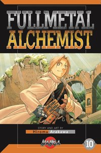 bokomslag FullMetal Alchemist 10