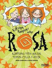 bokomslag Riktiga kompisar enligt Rosa : kompisar, tester, serier, tips, musik, fylla-i-sidor