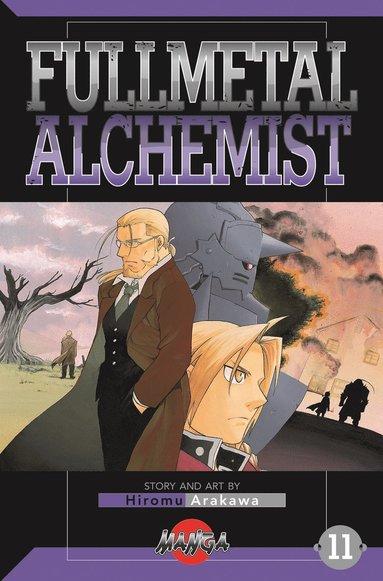 bokomslag FullMetal Alchemist 11