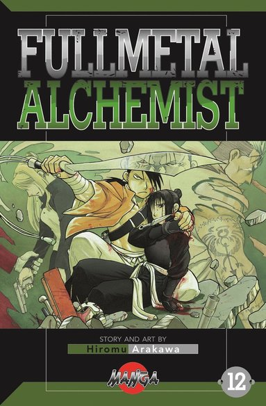 bokomslag FullMetal Alchemist 12