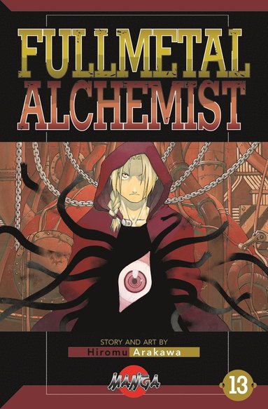 bokomslag FullMetal Alchemist 13