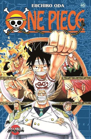 bokomslag One Piece 45 : Jag förstår att ni är upprörda