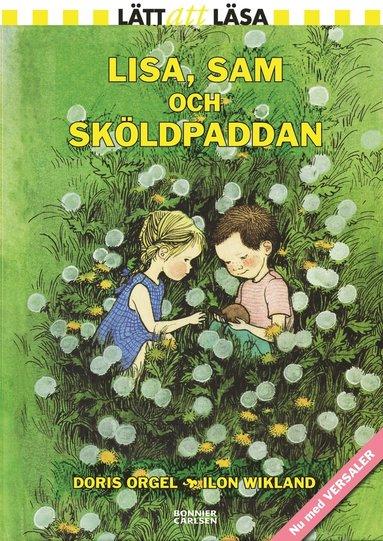 bokomslag Lisa, Sam och sköldpaddan (med versaler)