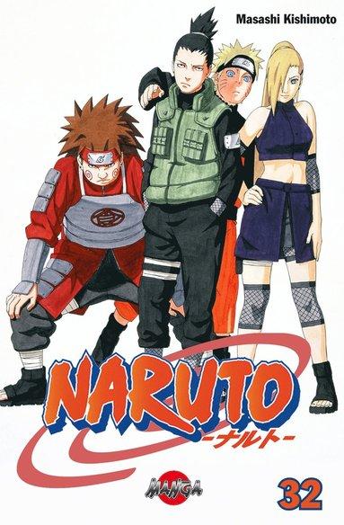 bokomslag Naruto 32
