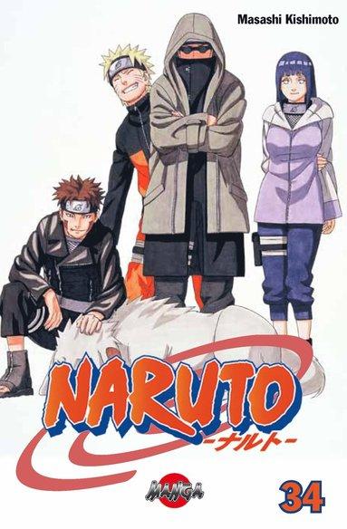 bokomslag Naruto 34 : Återföreningen