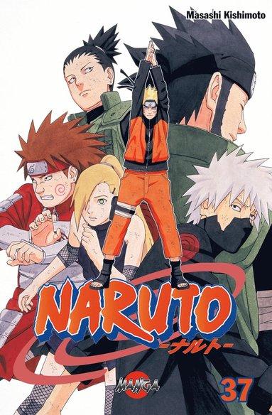bokomslag Naruto 37