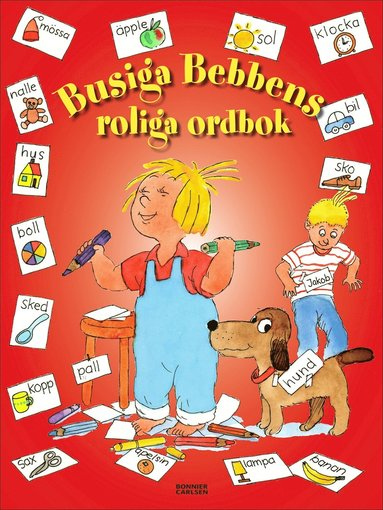 bokomslag Busiga Bebbens roliga ordbok