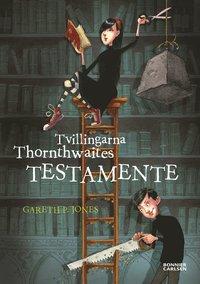 bokomslag Tvillingarna Thornthwaites testamente