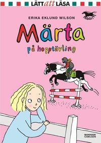bokomslag Märta på hopptävling