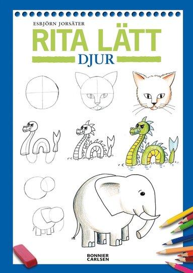 bokomslag Rita lätt : djur