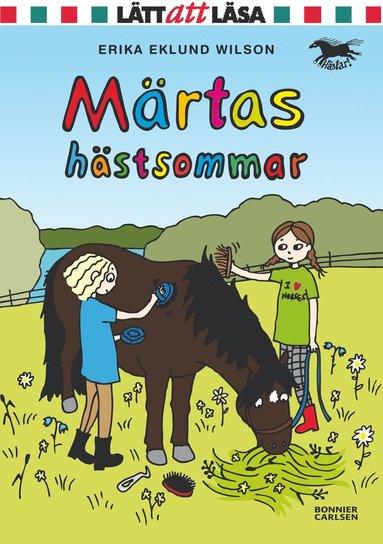 bokomslag Märtas hästsommar