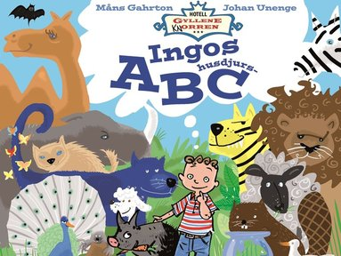 bokomslag Ingos husdjurs-ABC
