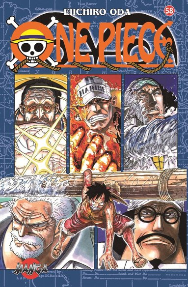 bokomslag One Piece 58