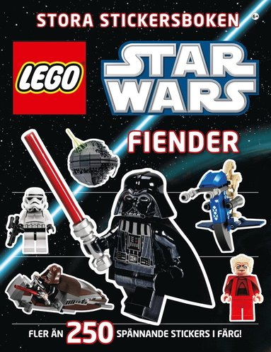 bokomslag Lego star wars stora stickersboken : fiender