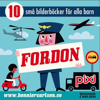bokomslag Pixibox Fordon