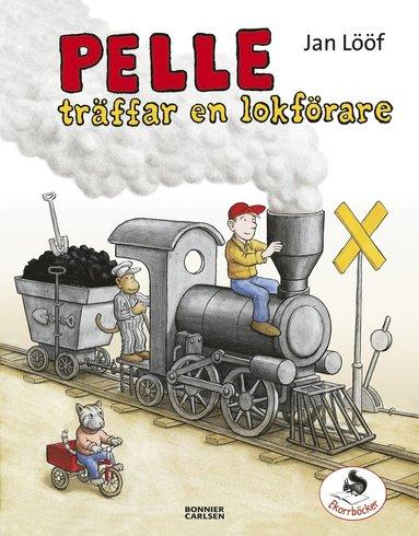 bokomslag Pelle träffar en lokförare