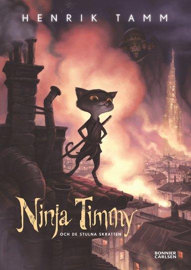 bokomslag Ninja Timmy och de stulna skratten