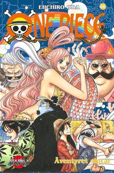 bokomslag One Piece 66 : vägen som leder mot solen