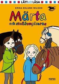 bokomslag Märta och stallkompisarna