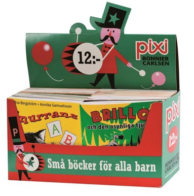 bokomslag Pixi säljförpackning serie 203