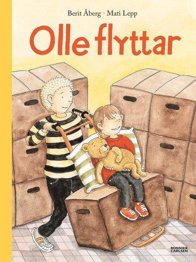 bokomslag Olle flyttar