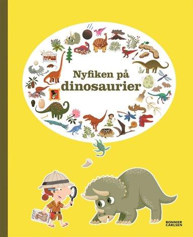 bokomslag Nyfiken på dinosaurier