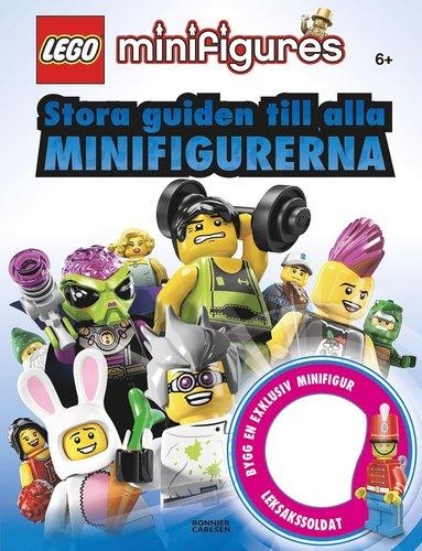 bokomslag LEGO Stora guiden till alla minifigurerna