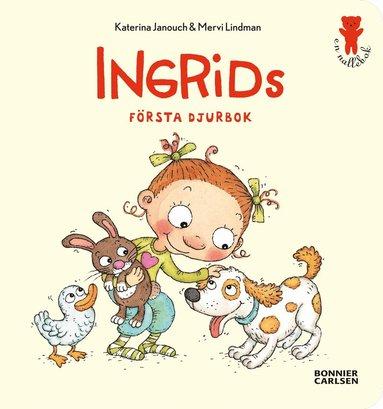 bokomslag Ingrids första djurbok