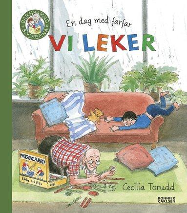 bokomslag En dag med farfar : vi leker