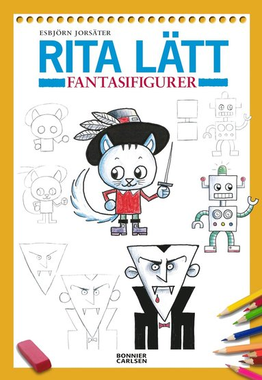 bokomslag Rita lätt : fantasifigurer