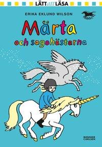 bokomslag Märta och sagohästarna