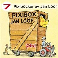 bokomslag 7 Pixiböcker av Jan Lööf