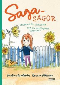 bokomslag Sagasagor. Studsmatta, simskola och en borttappad tigertass