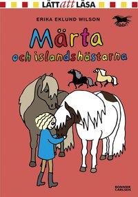 bokomslag Märta och islandshästarna