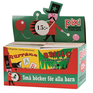 bokomslag Pixi säljförpackning serie 221